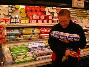 Choose dog food properly.